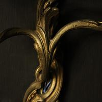 French Pair Of Antique Bronze Wall Sconces (10 of 10)