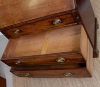 Georgian Bureau Mahogany 18th Century Writing Desk Chest (11 of 12)