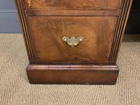 Edwardian Burr Walnut Pedestal Desk (9 of 14)