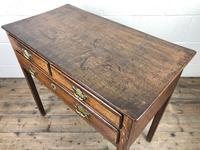 Georgian Oak Crossbanded Side Table (8 of 10)