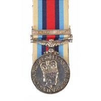 British military Elizabeth II Operational Service medal with Afghanistan bar etc