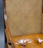 Georgian Mahogany Bergere Chair (6 of 7)