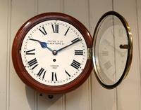 Mahogany 10' Fusee Dial Clock (10 of 12)