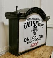 Traditional Large Guiness Hanging Pub Light 1950s (2 of 6)