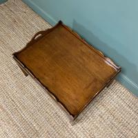Edwardian Tray Top Antique Coffee Table (5 of 5)