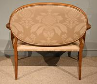 Satinwood Painted Sofa From 19th Century (6 of 6)