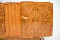 1930's Art Deco Burr Walnut Sideboard by Hille (4 of 12)