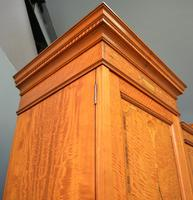 Stunning Victorian Satinwood & Marquetry Compactum Wardrobe (13 of 24)