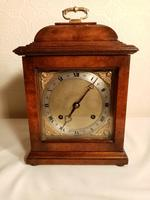 Burr Walnut Mantel Clock. Elliottt of London (7 of 7)