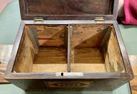 Pretty 19th Century Tunbridge Ware Tea Caddy (3 of 5)