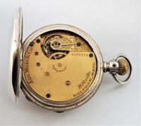 Antique Waltham Hillside Pocket Watch, 1886 (5 of 6)