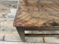 Pair of Welsh Oak Bar Back Farmhouse Chairs (11 of 15)