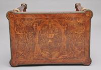 19th Century Inlaid Mahogany Dressing Table (5 of 13)