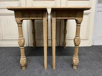 Pair of Bleached Oak Console Tables (10 of 16)