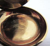 Antique Rolled Gold Sovereign Case, Waterproof, ALD Aaron Lufkin Dennison Pocket Watch Case Company Co c.1910 (7 of 10)