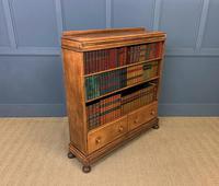 Oak Open Bookcase c.1920 (7 of 12)