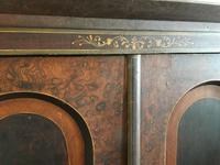 Antique Pine Cupboard Armoire Original Hand Painted (6 of 6)