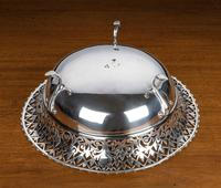 Early 20th Century Flared & Cast Silver Bowl (5 of 7)