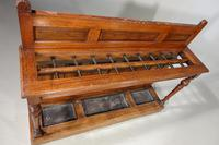 Fine Late 19th Century Country House Oak Hall or Stick Stand (5 of 5)