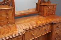 19th Century Satin Birch Dressing Table (11 of 14)