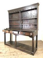 Antique 18th Century Welsh Oak Pot Board Dresser (19 of 26)