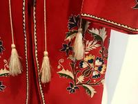 Very Unusual Vintage Felt Coat  Decorated with Embroidery Possibly Turkish or Greek (4 of 7)