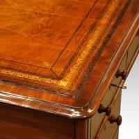 Victorian Mahogany Pedestal Desk (9 of 11)