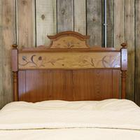 Art Nouveau Matching Pair of Twin Single French Beds (7 of 10)