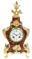 Antique French Shell & Ormolu 8-Day Striking Mantel Clock Rococo Boulle Case Segment Dial Signed (13 of 13)