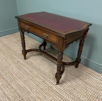 Quality Walnut Maple & Co Antique Writing Table (7 of 7)