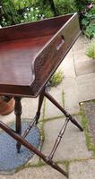 Early 19th Century Mahogany Butlers Tray with Stand (3 of 7)