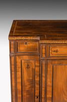 Regency Period Mahogany Breakfront Side Cabinet (2 of 6)
