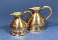 Pair of Victorian Copper Spirit Measures (8 of 8)