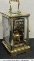 Nice 8 Day Timepiece Carriage Clock with Original Travel Case (2 of 5)