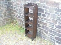 Arts & Crafts Oak Open Bookshelf (3 of 10)