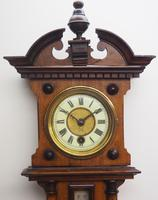 Antique combination HAC 8 Day Wall Clock Clock displays clock, barometer and thermometer (9 of 10)