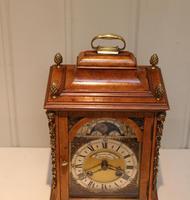 Small Burr Maple Bracket Clock (4 of 9)