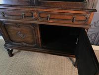 Oak Twist Leg Bookcase (12 of 13)