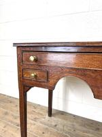 Early 19th Century Oak Side Table or Lowboy (3 of 10)