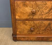 Victorian Burr Walnut Chest of Drawers (8 of 13)