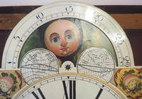 Fine English Longcase Clock D Cowed Manchester 8-day Striking Grandfather Clock Solid Mahogany Case (16 of 19)