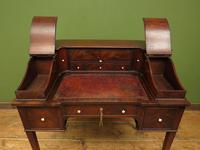 Antique 19th Century Carlton House Desk Mahogany Writing Table of Immense Character (7 of 30)