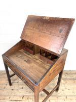 Antique Mahogany Clerk's Desk or Bureau (9 of 10)