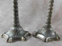 Pair of Candlesticks in the Shape of Palm Trees (3 of 4)