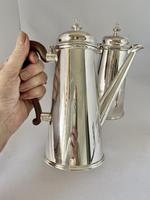 Silver Plated Chocolate Set c.1930 (7 of 8)