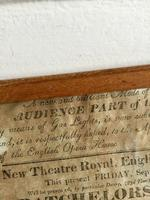 Antique Theatre Poster 1817 was the English Opera House, Now Lyceum, London Rare (4 of 7)