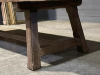 Huge Rustic French Oak Farmhouse Dining Table (15 of 35)