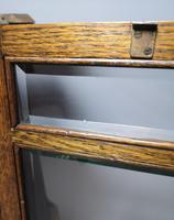 Antique Art Nouveau Oak Smokers Cabinet (13 of 13)