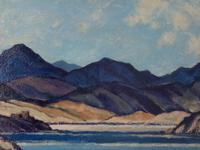 Oil Painting of Highlands (3 of 4)