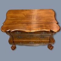 19th Century Dutch Walnut Chest of Drawers (10 of 10)